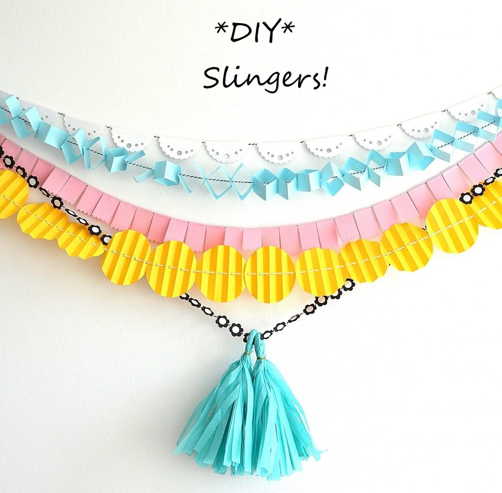 diy slingers!
