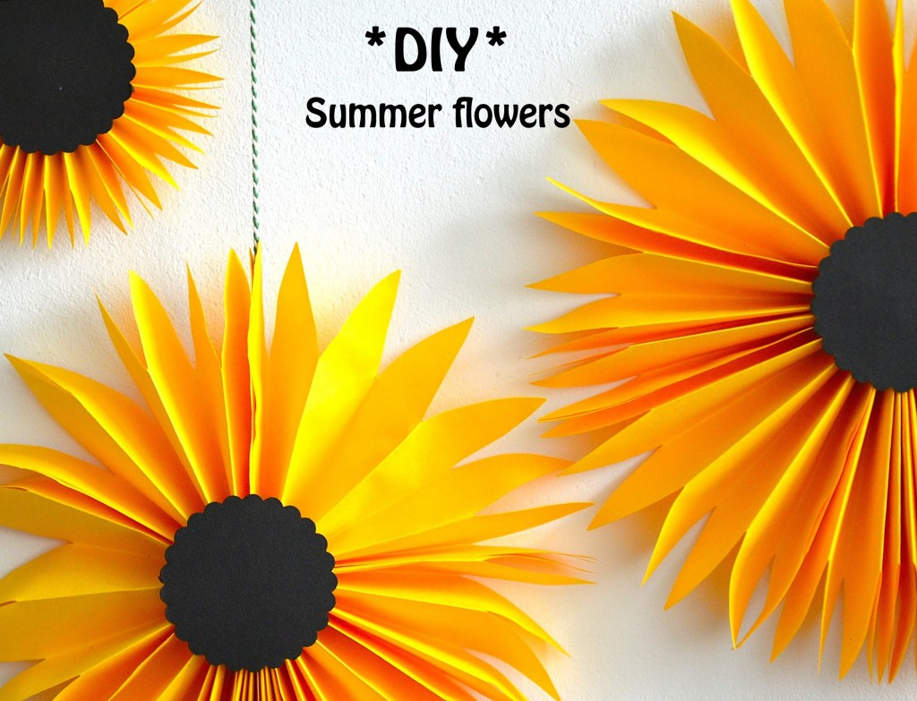 DIY summerflowers