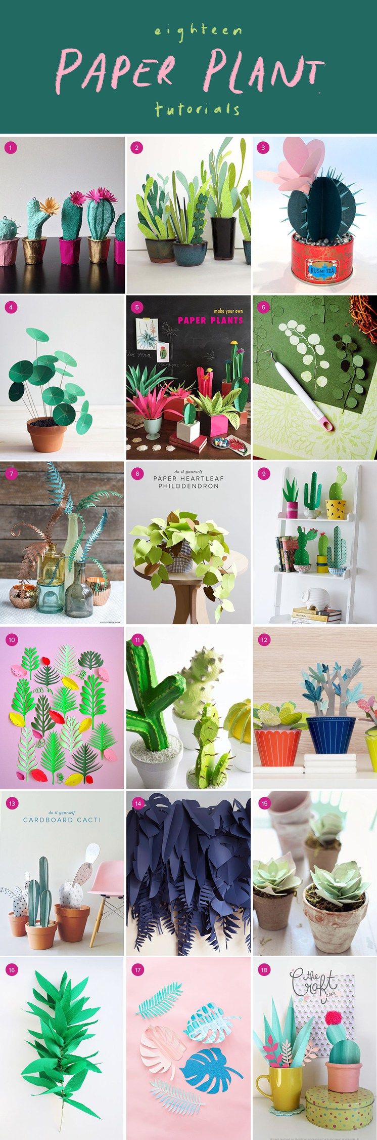 18-best-paper-plant-tutorials